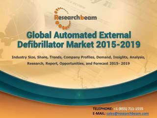 Global Automated External Defibrillator Market 2015-2019
