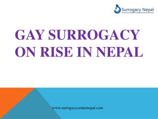 gay Surrogacy on rise in Nepal