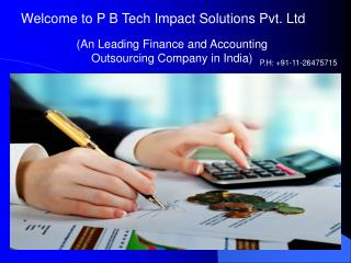 Finance And Accounting Outsourcing India
