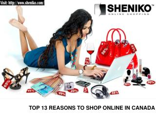 Top 13 Reasons to Shop Online in Canada - Sheniko Beauty Sup