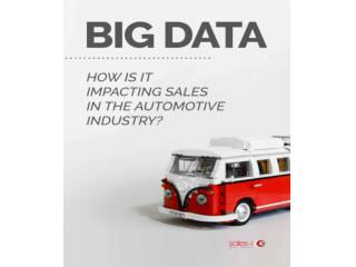 How is big data impacting sales in the automotive industry?