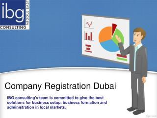 Company Registration Dubai