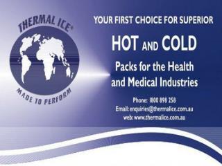Ice pack wraps