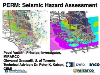 PERM: Seismic Hazard Assessment
