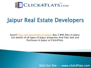 Click4Flats - Jaipur Real Estate Developers