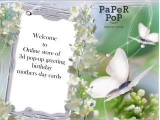 3d pop-up Greeting cards online