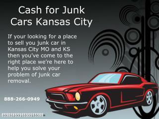 Cash for Junk Cars Kansas City