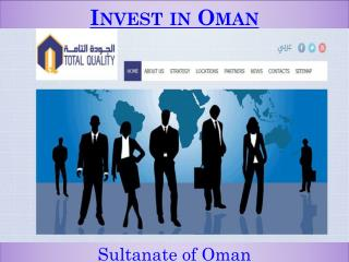 Invest in Oman