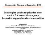 Cooperaci n Alemana al Desarrollo - GTZ