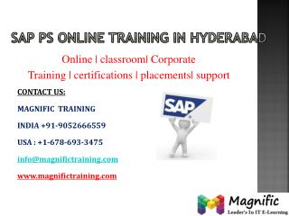 sap ps online training in canada
