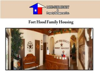 Fort Hood Family Housing