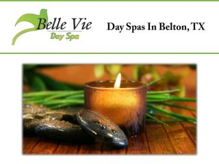 Day Spas In Belton, TX