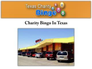 Charity Bingo In Texas