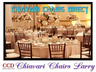 Chiavari Chairs Larry
