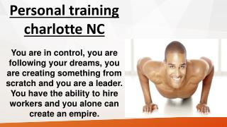 Boot camp charlotte NC
