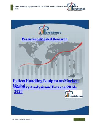 Patient Handling Equipments Market: Global Industry Analysis