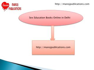 Sex Education Books Online in Delhi