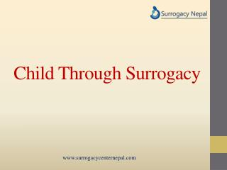 Child Through Surrogacy