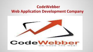 Web Application Development Services Company - CodeWebber