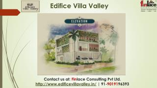 Edifice Villa Valley, Pre Launch Yelahanka Bangalore