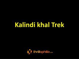 Kalindi Khal trek