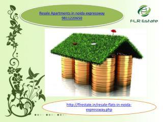 resale apartments in noida 9811220650 esxpressway, resale fl