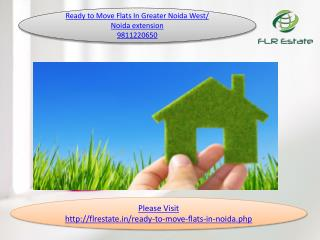 ready to move flats 9811220650 in greater noida west and noi