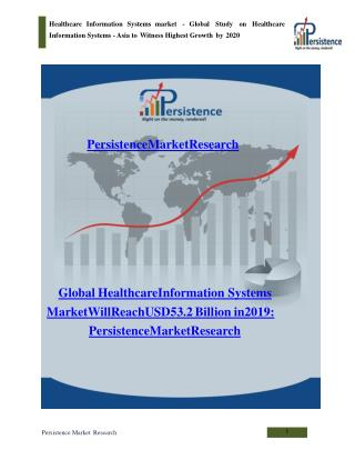 Global Healthcare Information Systems market to 2020