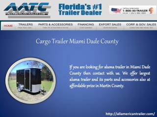Cargo Trailer Miami Dade County