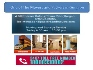 Packers and Movers Gurgaon Company