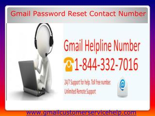 Gmail Technical Support 1-844-332-7016 Number USA