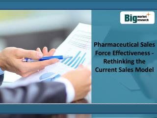 Gain Insight Into harmaceutical Sales Force Effectiveness Ma