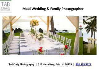Maui Wedding And Family Photographer