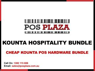 Kounta Hospitality Bundle -Cheap Kounta POS Hardware Bundle