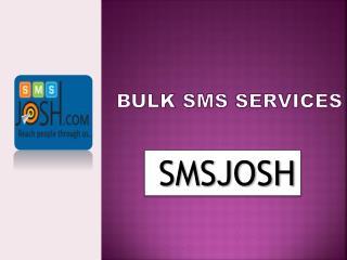 Bulk SMS Service Provider in Hyderabad – SMS Josh