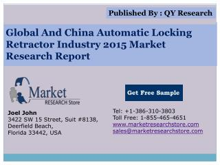 Global And China Automatic Locking Retractor Industry 2015 M