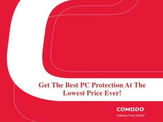Best Anti-Virus And Malware Protection | Comodo