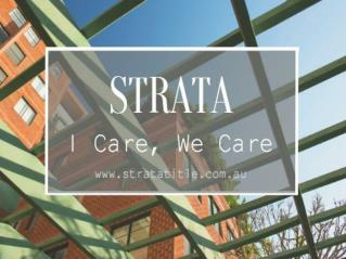 Contact Strata Title Management in Sydney, Australia