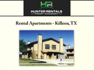 Rental Apartments - Killeen, TX