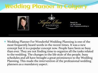 Wedding planning company Calgary