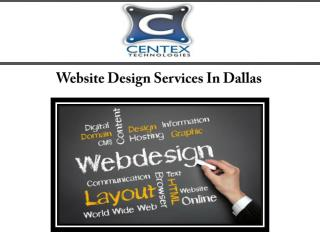 Website Design Services In Dallas