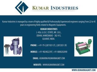 Magnetic rod manufacturer, Magnetic drum separator