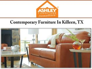 Contemporary Furniture In Killeen, TX