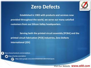 Zero Defects -