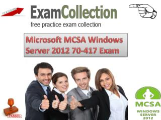 Microsoft MCSA 70-417 Exam Questions