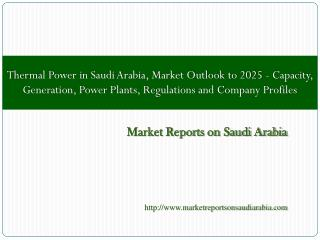 Thermal Power in Saudi Arabia, Market Outlook to 2025