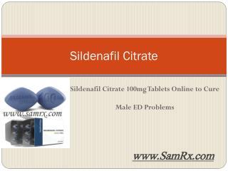 Sildenafil Citrate 100mg