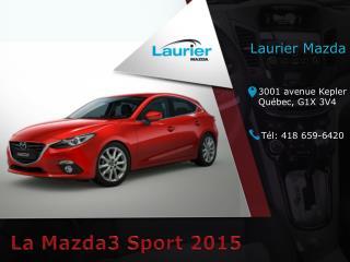Mazda 3 Sport 2015 à Québec - Un véhicule économique