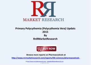 Erythremia (Polycythemia Vera) Market 2015