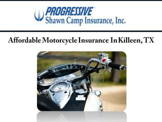 Affordable Motorcycle Insurance In Killeen, TX